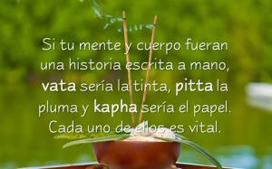 Imagen poetica Doshas