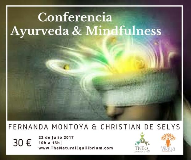 Conferencia Ayurveda & Mindfullness